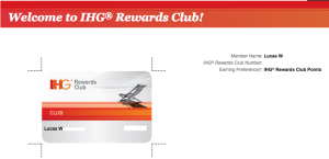 hotel loyalty program
