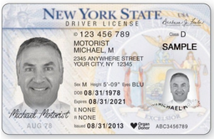 NY Drivers License