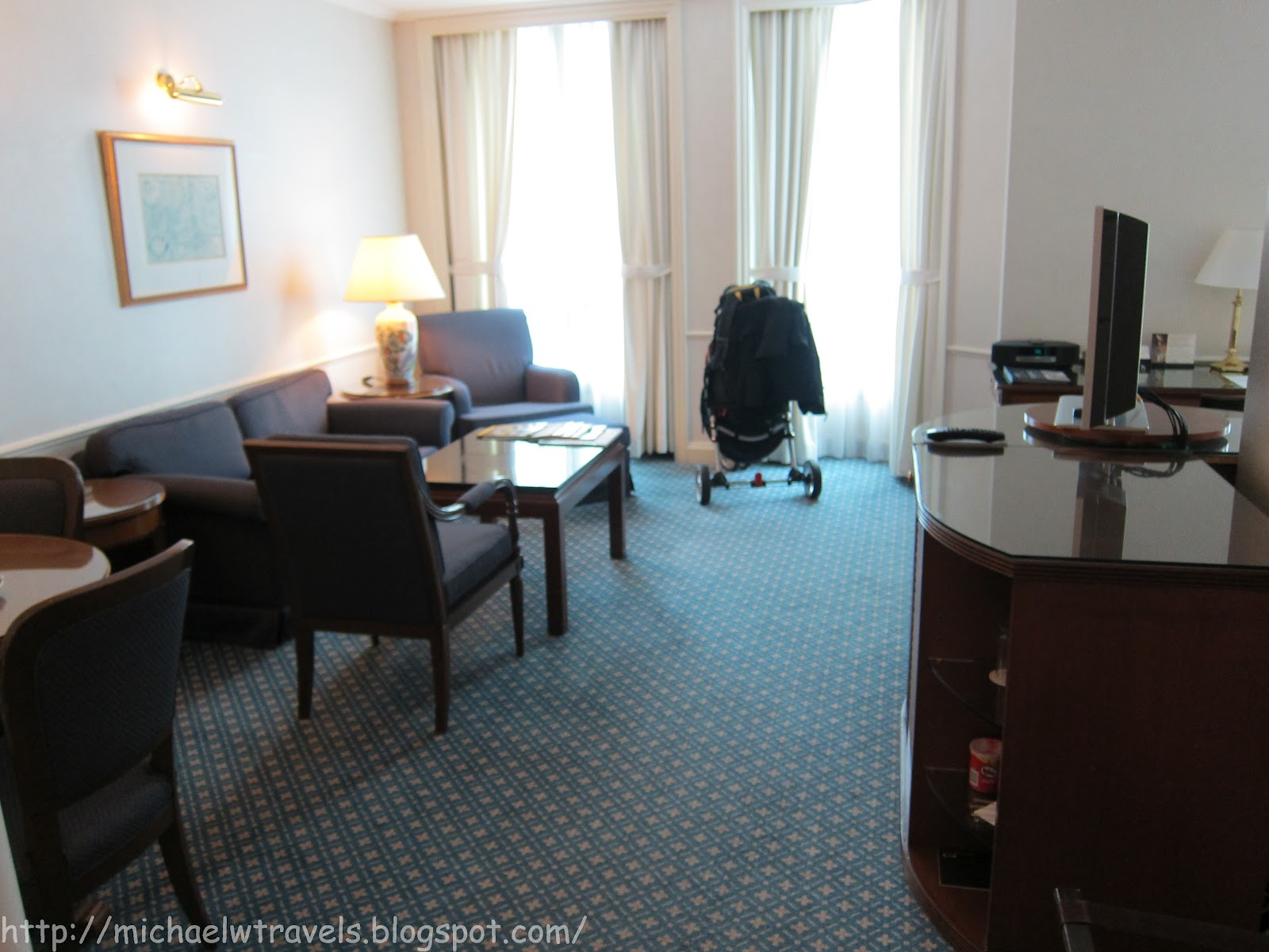 Hotel Review: Intercontinental Singapore - Michael W Travels...